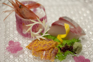Kaiseki, the Japanese plating style, is an art form that balances the taste, texture, appearance, and colors of food