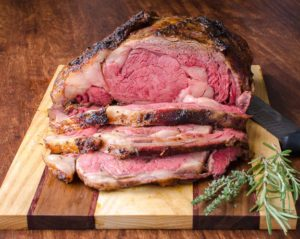 Prime Rib dinner by Denni's Catering